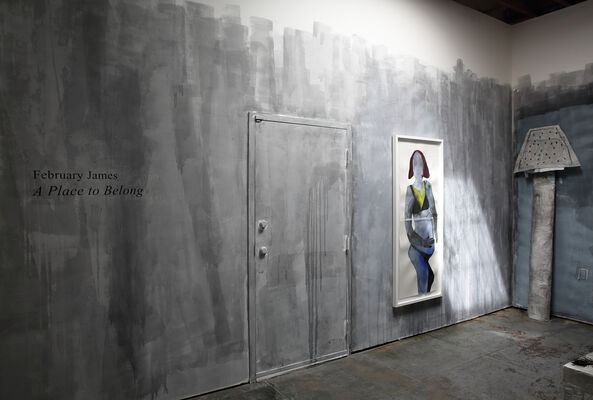 February James | A Place to Belong, installation view