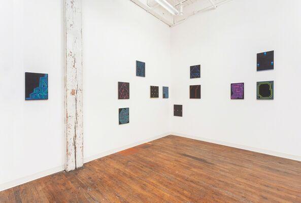 Jason Karolak, Slow Talkers, installation view