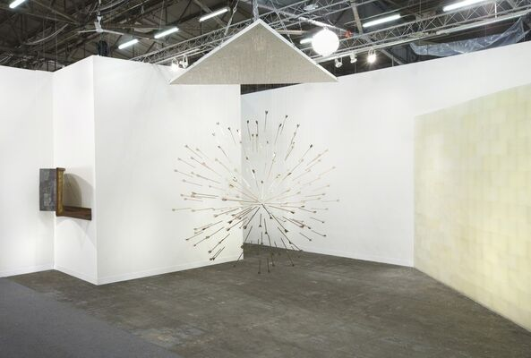 Honor Fraser at The Armory Show 2015, installation view