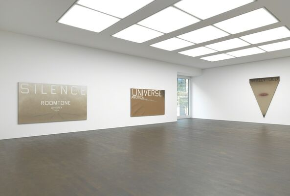 Ed Ruscha: Extremes and In-Betweens, installation view