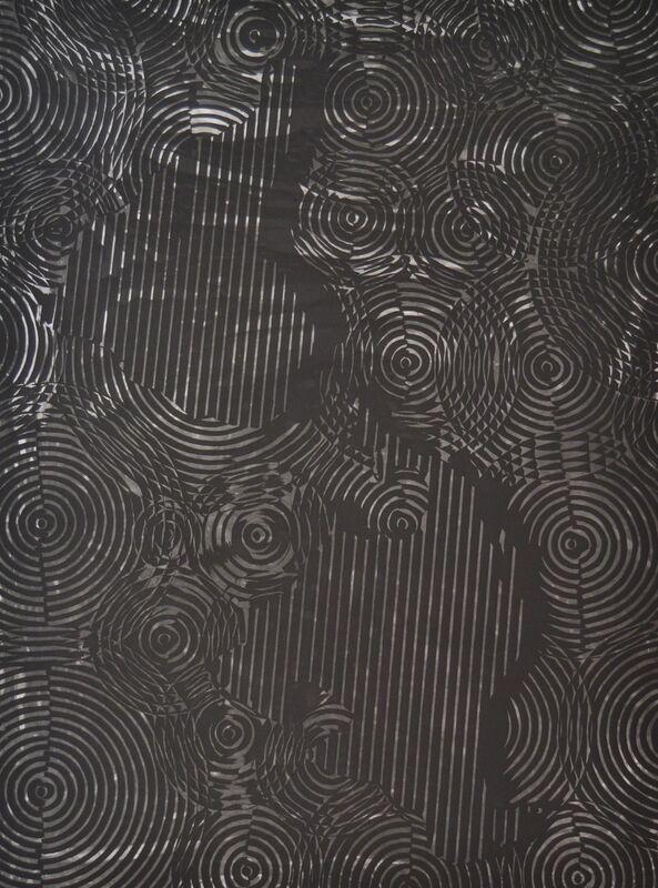 Alexandre Arrechea, 'Mapa frente al espejo (América)', 2016, Print, Aquatint, dry point and spit bite, Galería La Caja Negra