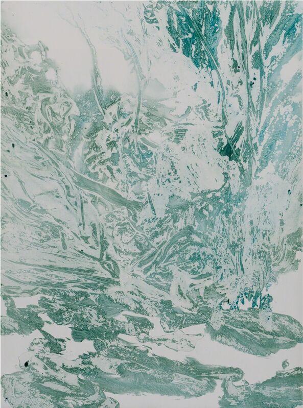 Pedro Vaz, 'S/Título', 2016, Painting, Acrylic on paper, Galeria Enrique Guerrero