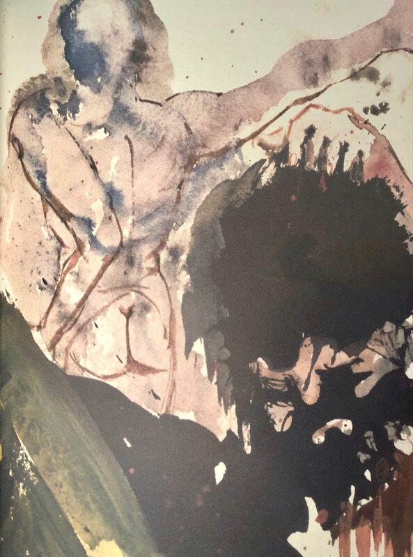 Salvador Dalí, 'Judith Beheads Holofernes, 'Judith Abscidit Caput Holoferni', Biblia Sacra', 1967, Print, Original Lithograph, Inviere Gallery
