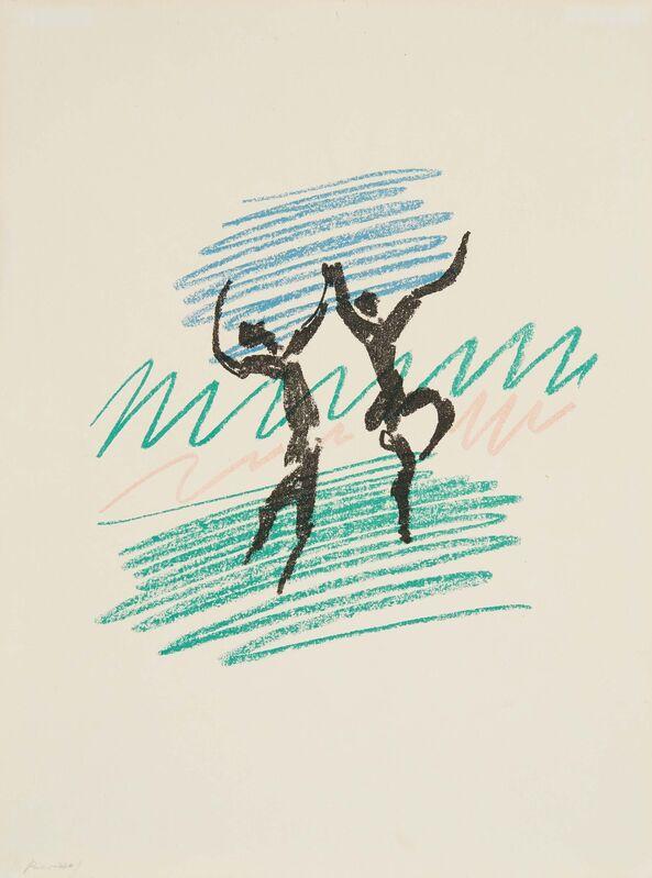 Pablo Picasso, 'Frontispice Mourlot III', 1956, Print, Colour lithograph on vellum, Van Ham