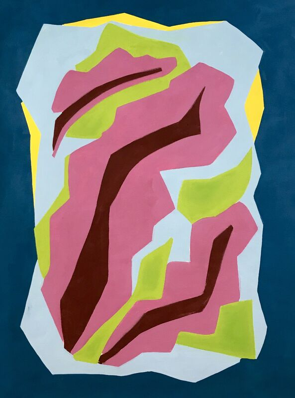 Katharine Dufault, 'Red Bush', 2018, Painting, The Painting Center