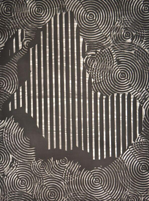 Alexandre Arrechea, 'Mapa frente al espejo (África)', 2016, Print, Aquatint, dry point and spit bite, Galería La Caja Negra