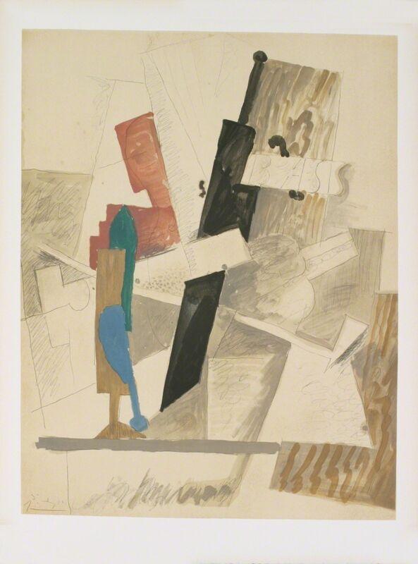 Pablo Picasso, 'Papiers Colles-Dessins', 1966, Ephemera or Merchandise, Stone Lithograph, ArtWise
