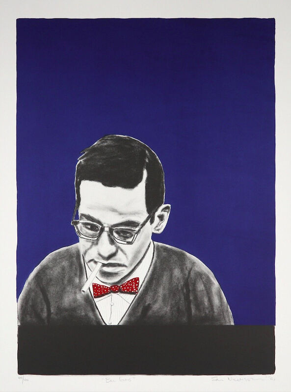Sam Nhlengethwa, 'Bill Evans', 2021, Print, Three colour lithograph, Goodman Gallery