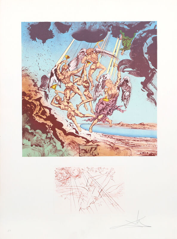 Salvador Dalí, 'Return of Ulysses from Homage a Homere', 1977, Print, Lithograph on Arches, RoGallery Gallery Auction