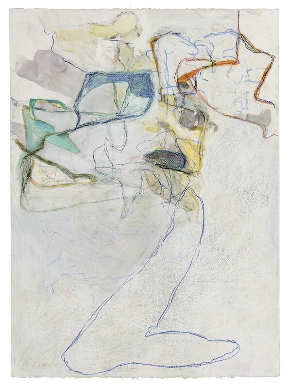 Cora Cohen, '08-15', 2015, Drawing, Collage or other Work on Paper, Crayon, pastel, pencil, watercolor on paper, New York Studio School
