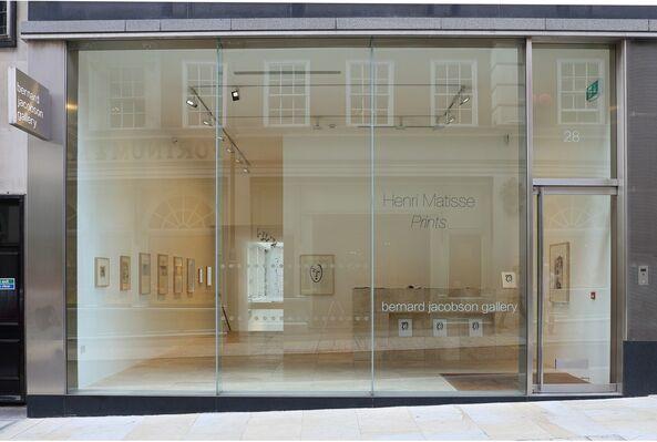 Henri Matisse: Prints, installation view