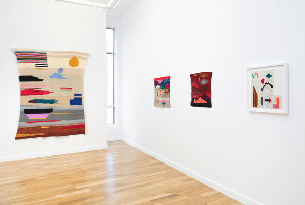The Tapestries, installation view