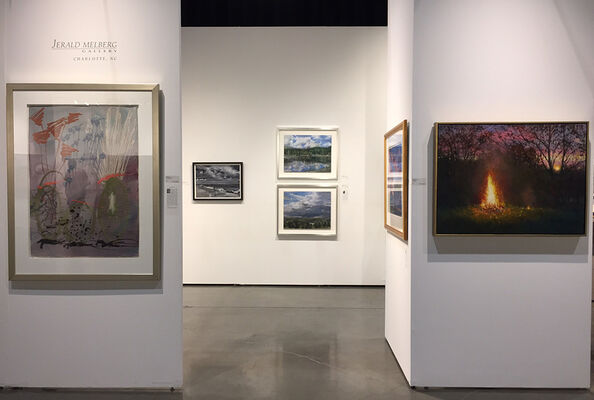 Jerald Melberg Gallery at Seattle Art Fair 2017, installation view