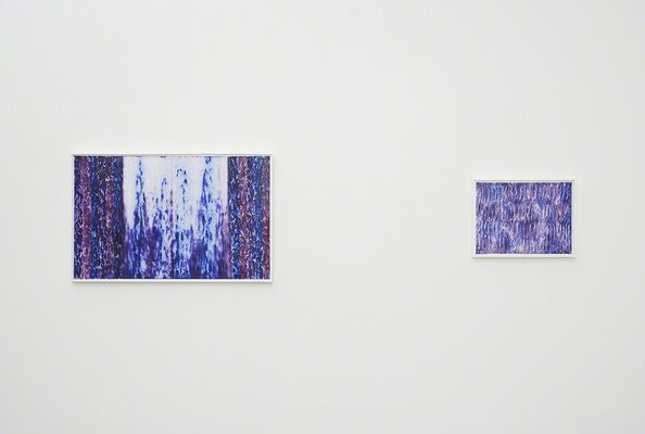 L.E. Kim: First Paintings, installation view