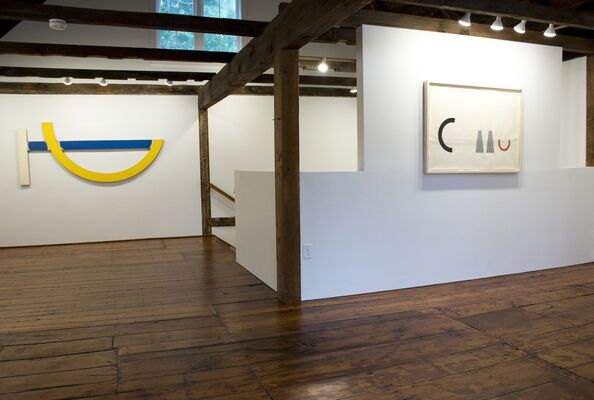 Gary Kuehn - The Berlin Series and Gesture Project, installation view