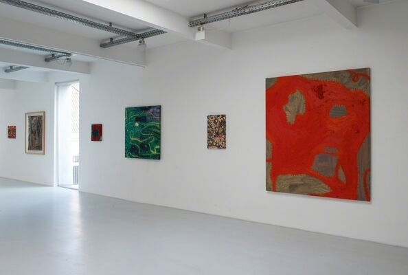 Werke 1981 - 2015, installation view