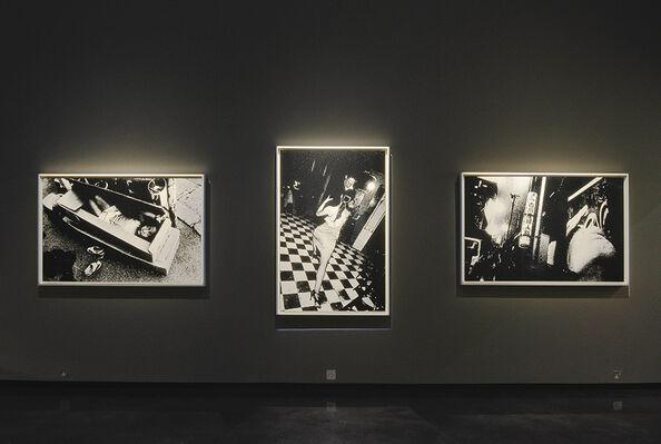 Daido Moriyama: Silkscreens, installation view