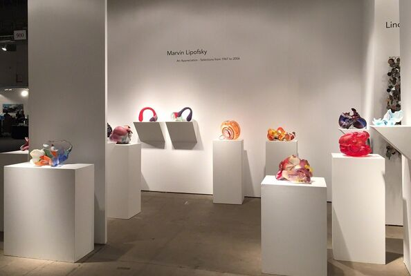 Duane Reed Gallery at SOFA Chicago 2015, installation view