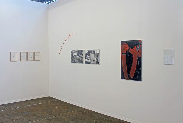 Nadja Vilenne at Art Brussels 2016, installation view