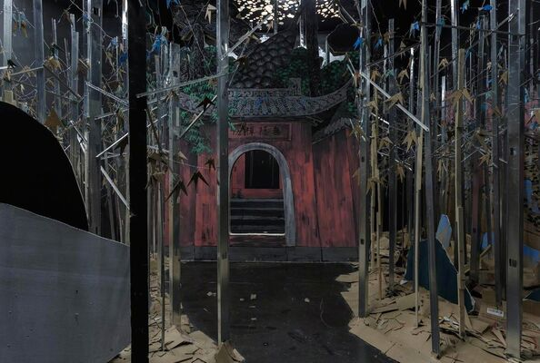 Temple of Candour, installation view
