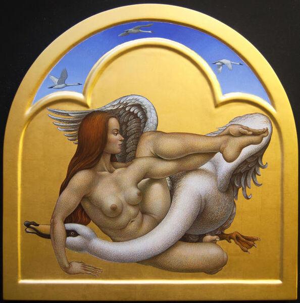 Michael Bergt, 'Leda and Swan'