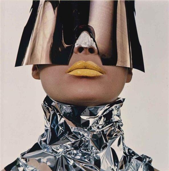 Irving Penn, 'Woman with sun block, New York', 1966