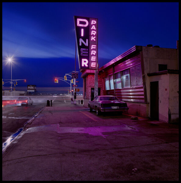 Jan Staller, 'Market Diner', Neg. date: 1987 c.