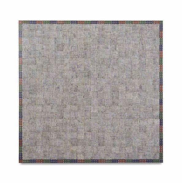 McArthur Binion, 'Hand:Work', 2019