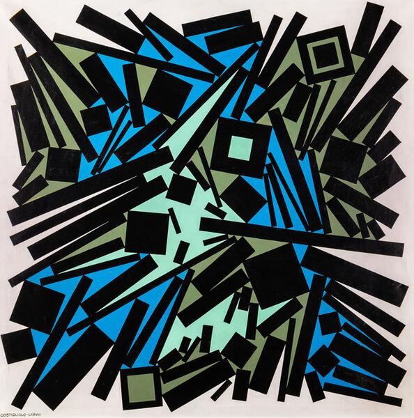 """José Pedro Costigliolo, '""""Rectángulos y cuadrados""""', 1977"""