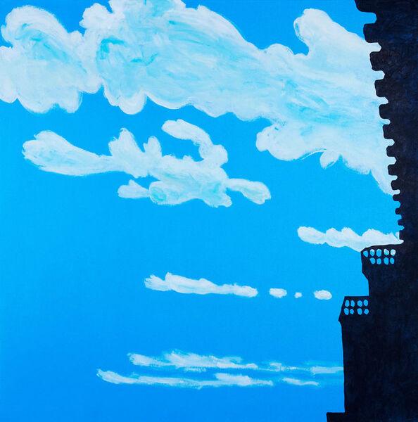 Nobuyuki Takahashi, 'Clouds and Castle', 2015