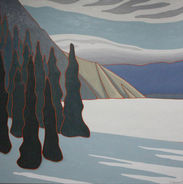 Linda Lindemann, 'Late Season Ski Trip - Jasper ', 2016