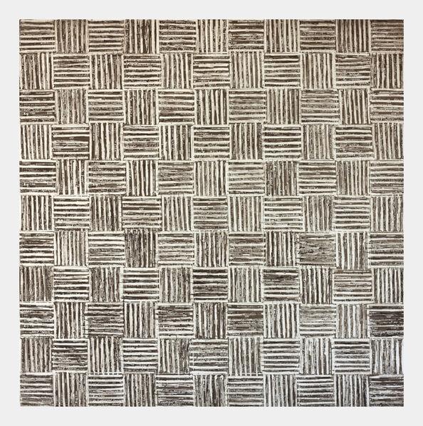 McArthur Binion, 'DNA: Etching: II', 2015