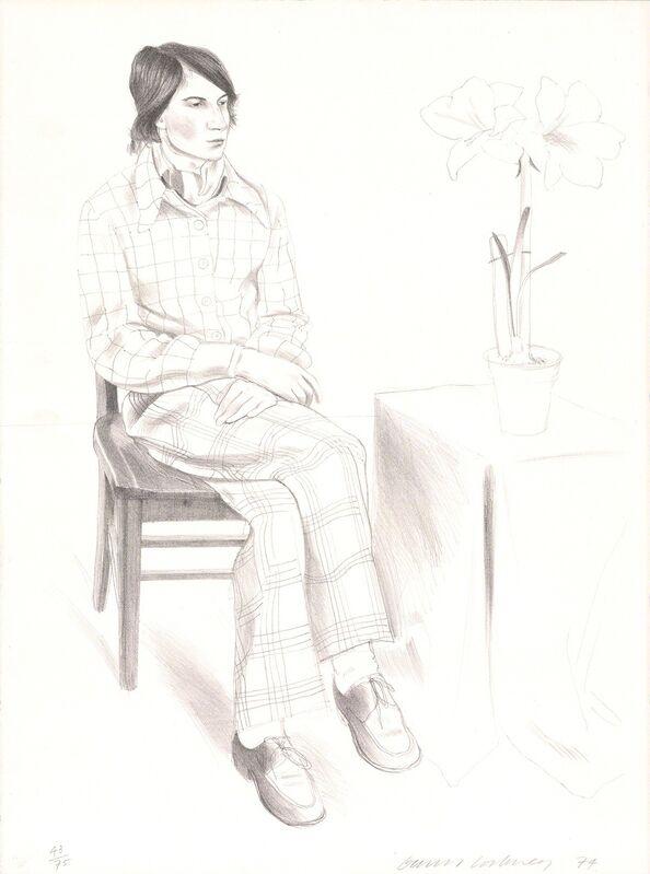 David Hockney, 'Yves Marie', 1974, Print, Lithograph, ArtWise