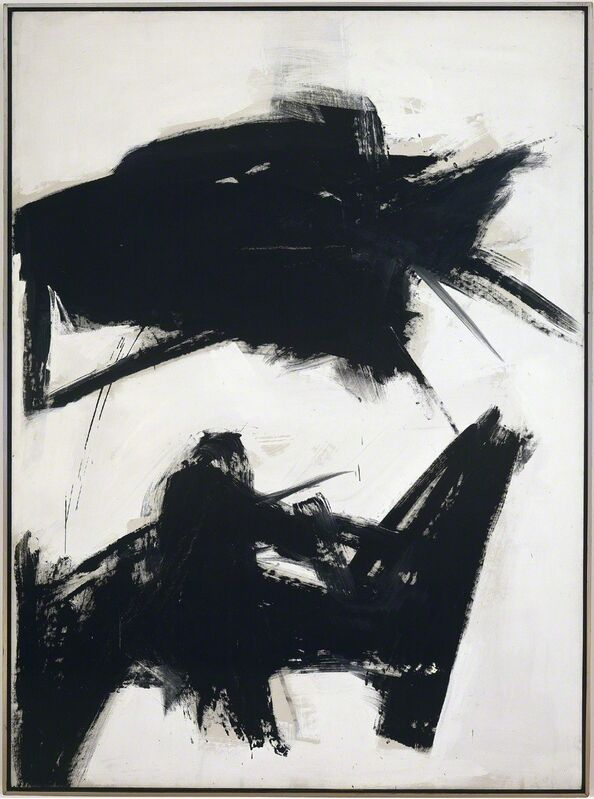 Franz Kline, 'Black Sienna', 1960, Painting, Oil on canvas, Gagosian