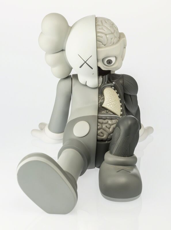 KAWS, 'Companion (Resting Place) (Grey)', 2013, Other, Painted cast vinyl, Heritage Auctions
