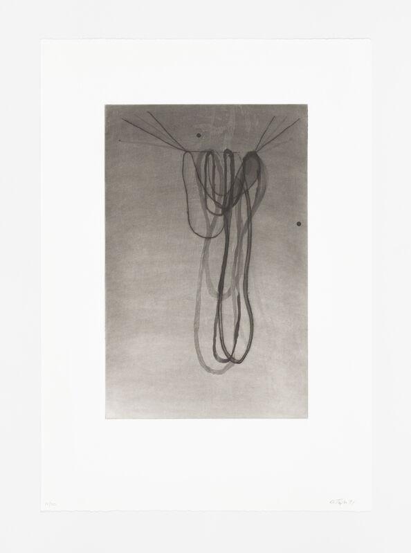 Al Taylor, 'Hanging Puddles I', 1991, Print, Drypoint, sugar lift aquatint, spit bite aquatint, BORCH