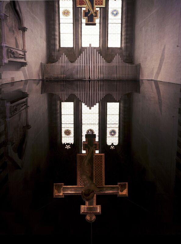 Per Barclay, 'Cimabue 1, Chiesa di San Domenico, Arezzo', 2014, Photography, Colour print on aluminium Dibond, Giorgio Persano