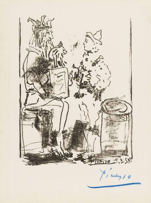 Pablo Picasso, 'Les Saltimbanques', 1958, Print, Lithograph, Forum Auctions
