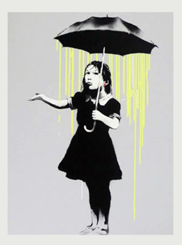 Banksy, 'Nola AP ', 2008, Print, Screenprint on paper, Rosenfeld Gallery LLC