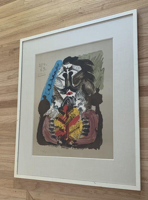 Pablo Picasso, 'Portraits Imaginaires 27.4.69', 1969, Print, Color lithograph on wove paper, Kwiat Art