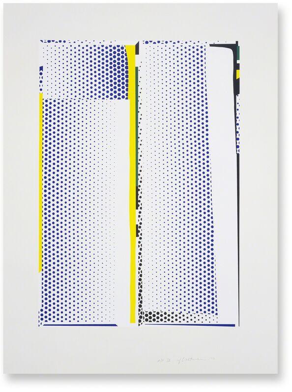 Roy Lichtenstein, 'Mirror #9', 1972, Print, 5-color lithograph/screenprint, Gemini G.E.L. at Joni Moisant Weyl