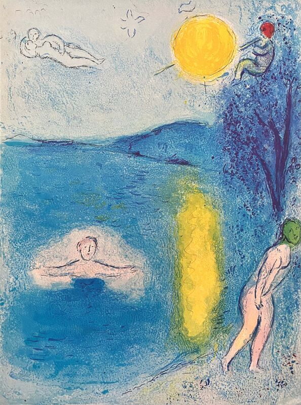 """Marc Chagall, '""""La Saison d'Été (The Summer Season),"""" from Daphnis et Chloé (Cramer 46; Mourlot 337)', 1977, Print, Offset lithograph on wove paper, Art Commerce"""