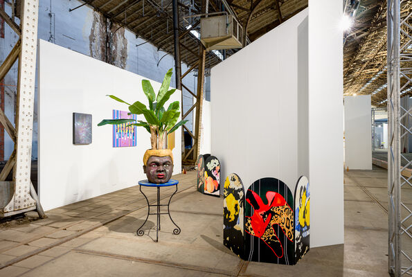 The Hermit Crab & the Gastropod, installation view