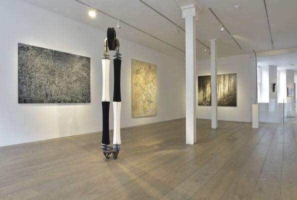 Across the Divide | curated by Lu Chao and Ian Rosenfeld, installation view