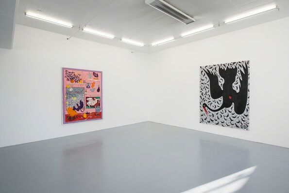 Holed Up, installation view