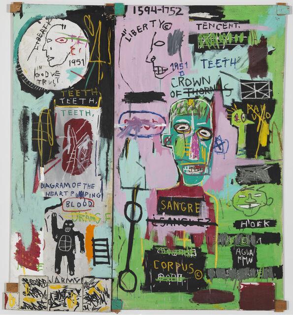 jean michel basquiat in italian 1983 artsy. Black Bedroom Furniture Sets. Home Design Ideas