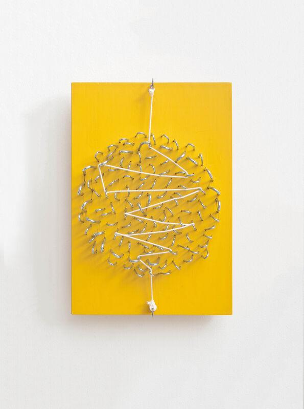 Kishio Suga, 'Divided Scatter', 2014, Mixed Media, Wood, Acrylic, Nail, String, Gallery Shilla + Art Project and Partners