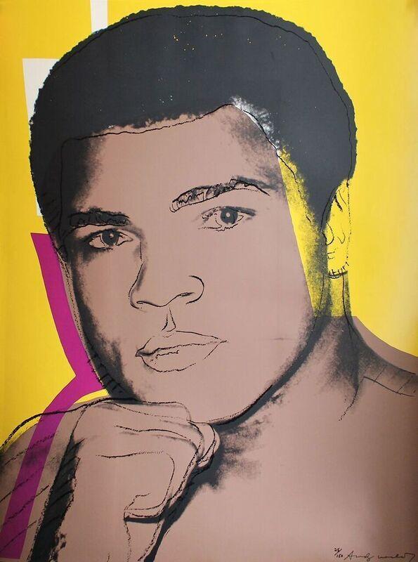 Andy Warhol, 'Muhammad Ali (FS II.182)', 1978, Print, Screenprint on Strathmore Drawing paper., Revolver Gallery