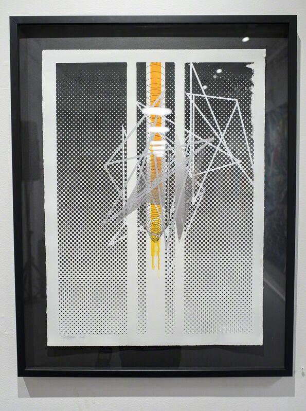 Gilbert1, 'Tirage unique sérigraphié #20', 2017, Print, Silkscreen on paper, framed, Mirus Gallery