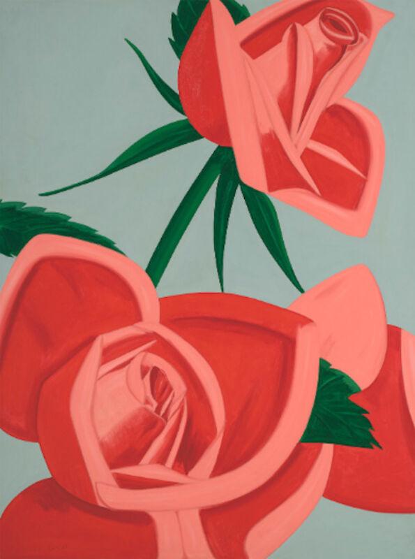 Alex Katz, 'Alex Katz, Rose Bud', 2019, Print, Pigment print on paper, Oliver Cole Gallery
